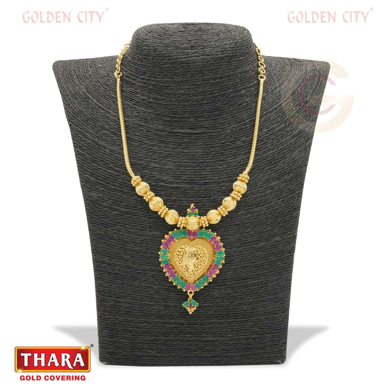 AD NECK 685 COLOUR RUBY&GREEN