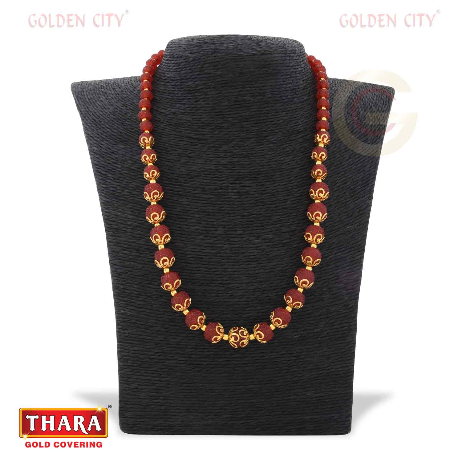 18 CRYSTAL G2  RED COLOUR Fancy chain
