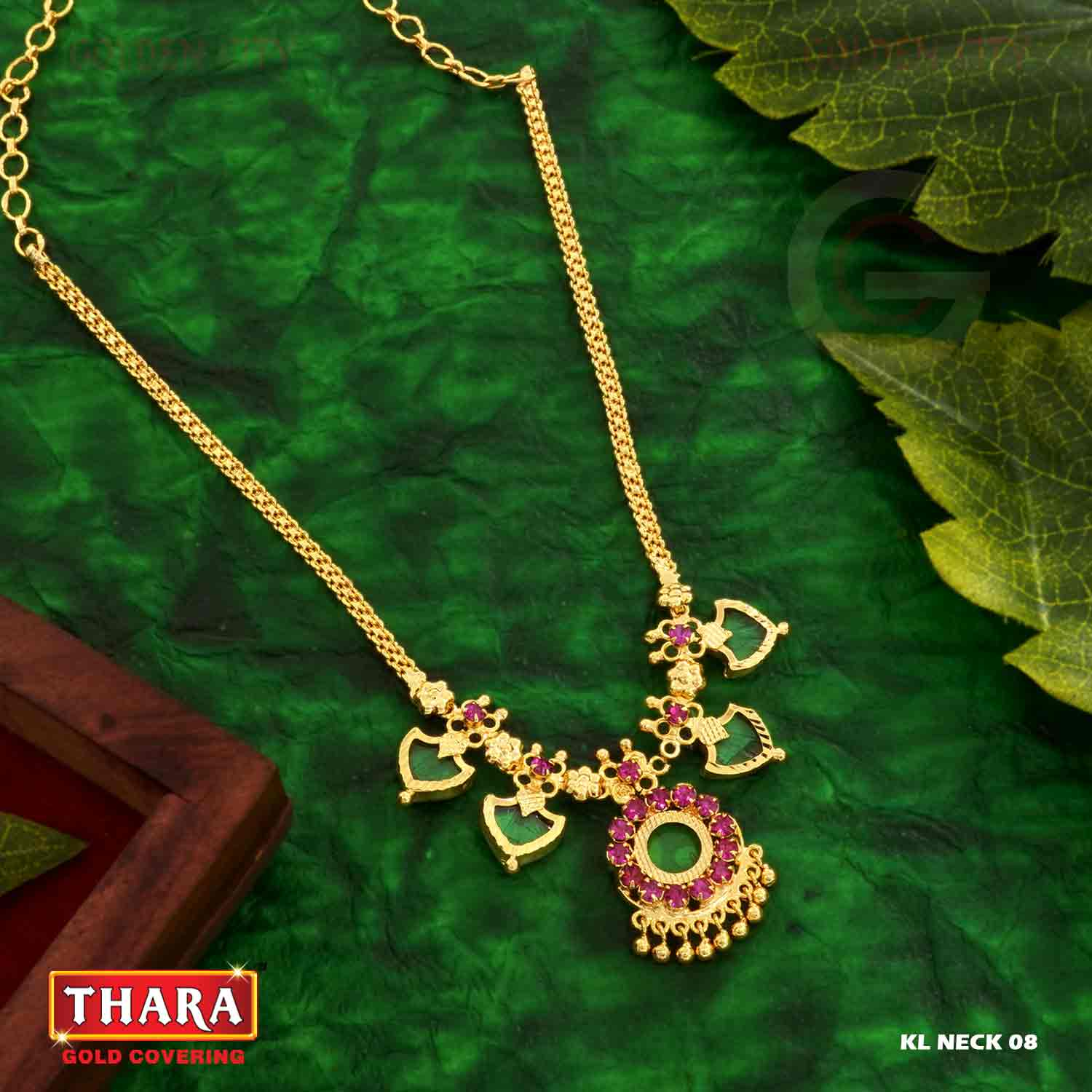 KLNK 08 COLOURRUBY&GREEN